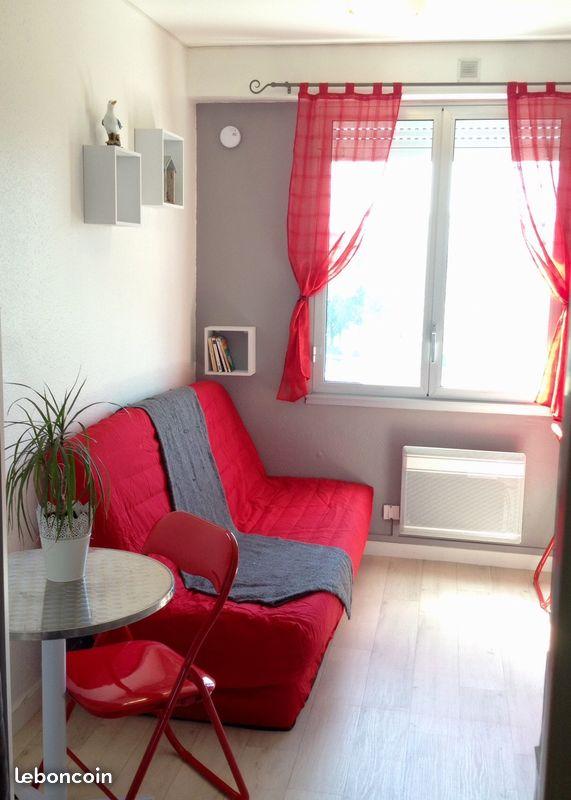 achat appartement studio 11m la rochelle 17000 la. Black Bedroom Furniture Sets. Home Design Ideas